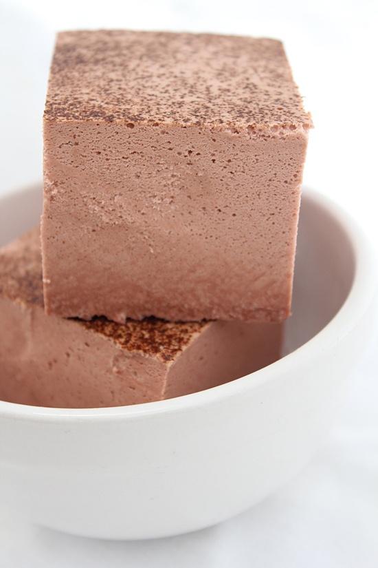 Milk Chocolate Marshmallow Cream Soap - Handmade Soap, Dessert Soap by Erin. $6.00, via Etsy.