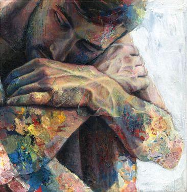 """Saatchi Online Artist: David Agenjo; Acrylic, 2012, Painting """"Bejin"""""""