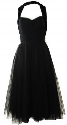 #1950's Chanel LBD  black dresses #2dayslook #new style #blackstyle  www.2dayslook.com