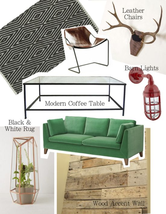 Office Design - Entryway Mood Board