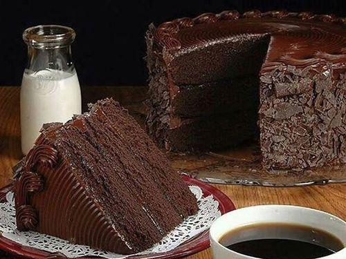 chocolate cake here.