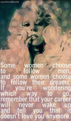 Marilyn Monroe.. I really like this quote :)