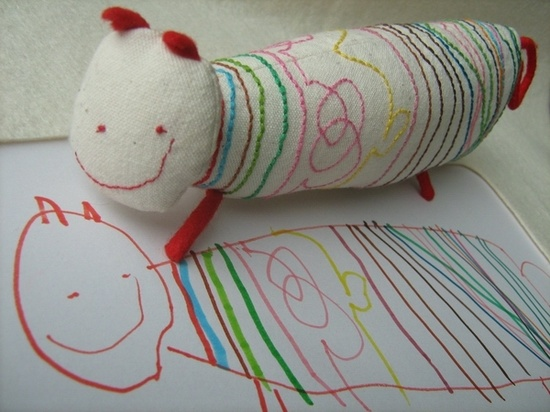 This company takes your childs drawing and makes it into a real toy. How neat!!