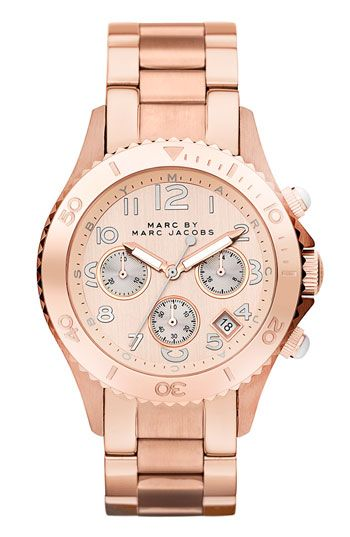 MARC BY MARC JACOBS  'Rock' Chronograph Bracelet Watch