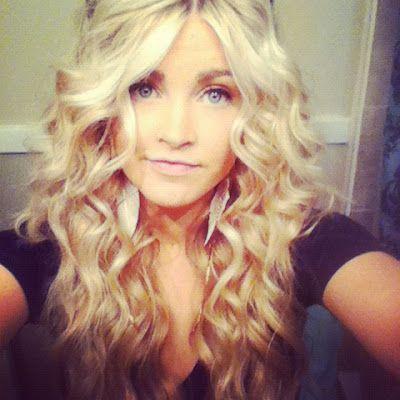 Tight Messy Curls