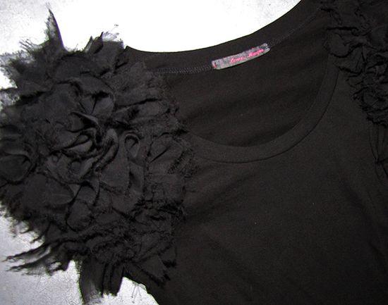 Ruffle Sleeve Top Sewing Tutorial