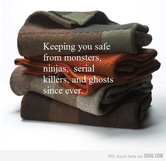 Thank you blanket. :D