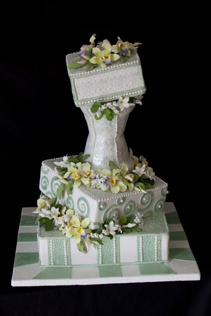 Wedding Cake Picture 3 - The Cake Zone by The Cake Zone, via Flickr