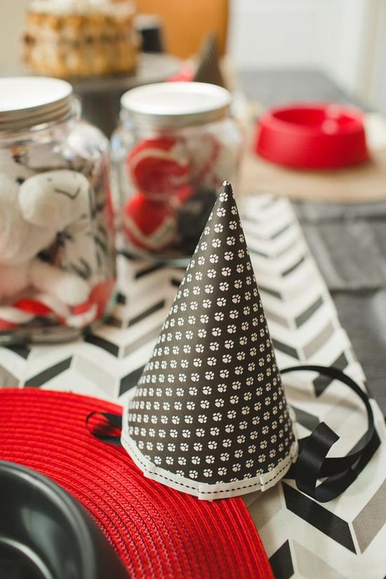 Birthday Party For Dogs with Lots of Fun Ideas via Kara's Party Ideas