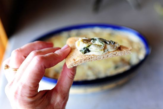 The Pioneer Woman - the best spinach artichoke dip ever