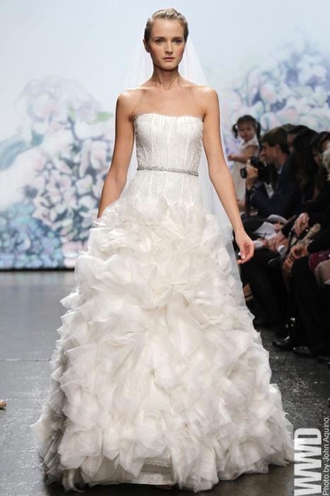 Monique Lhuillier Bridal Fall 2012