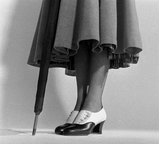 'High Button Shoes', 1948. #vintage #1940s #shoes