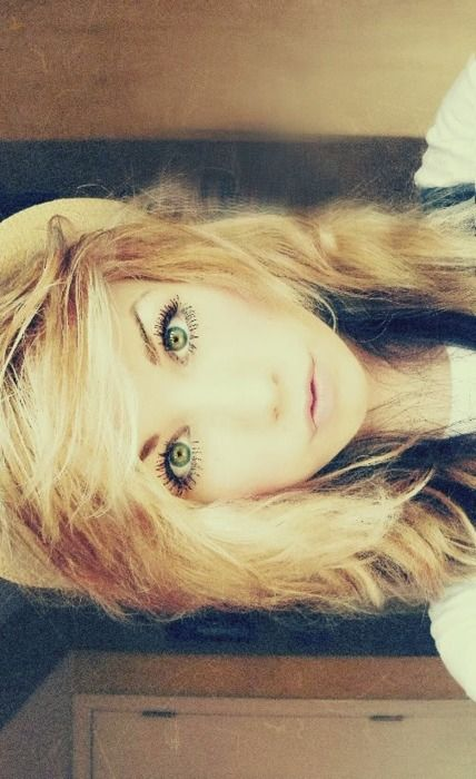 Hair.. eyes.. everything
