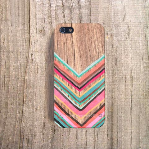 FALL iPhone Case Chevron iPhone 4 Case iPhone 5s Case Wood Print iPhone 4s Case iPhone 5c Chevron iPhone Case iPhone 4 Case Chevron iPhone 5