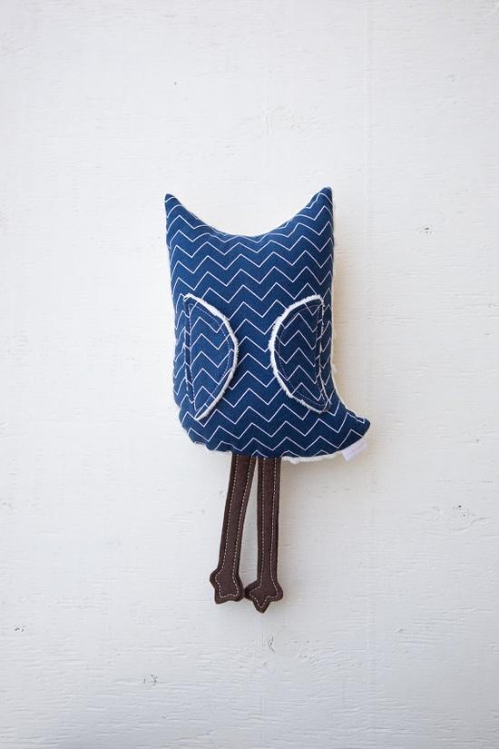 plush toy owl softie / mini plush animal / by hellomangoshop, $18.00