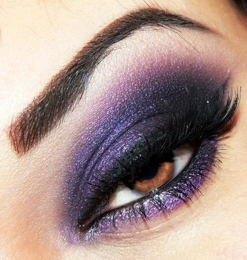 ? Purple Eye Shadow