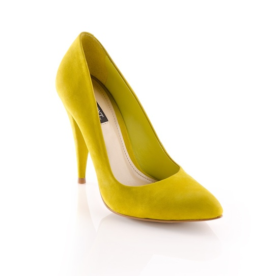 these too! Yellow heels