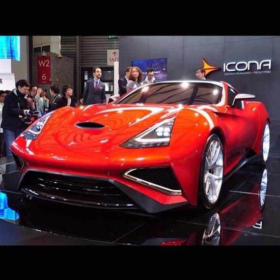 Icona Vulcano Supercar V12 !! Awesome!