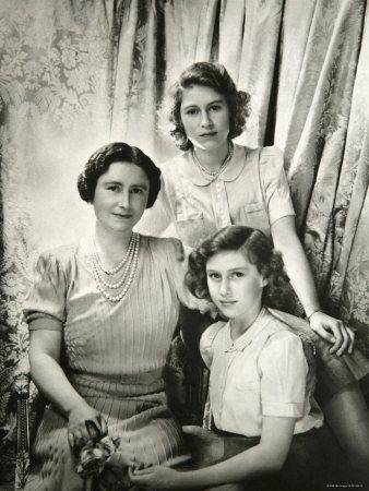 Royally Speaking:  The Queen, Princesses Elizabeth and Margaret