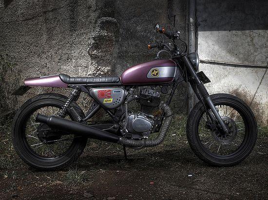 1976 CB100 by Hajarbroxx, Bandung