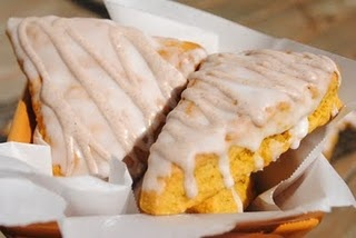Pumpkin Scones...better than Starbucks!