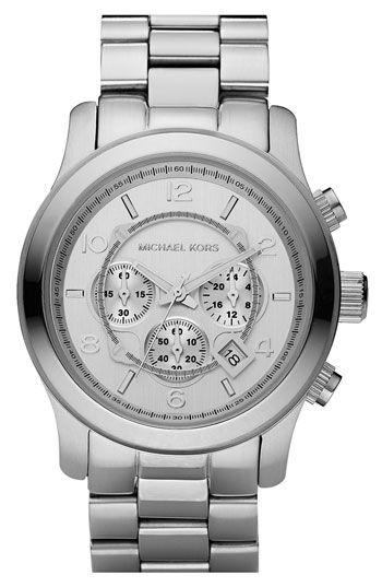 #silver #watch #michael kors