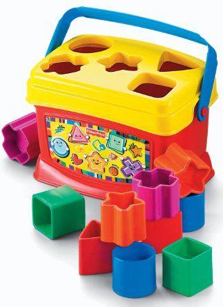 Amazon.com: Fisher-Price Brilliant Basics Babys First Blocks: Toys & Games