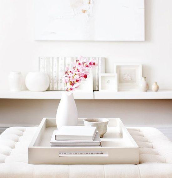 White home decor #white #homedecor #livingroom
