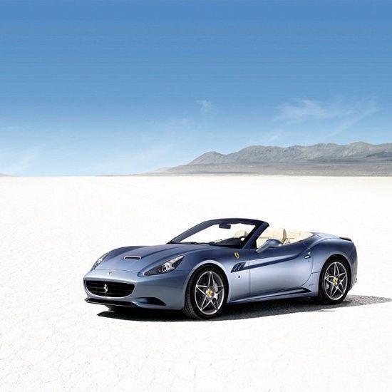 Ferrari California - Desert #ferrari vs lamborghini #sport
