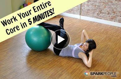Have a Ball Working Your Abs! via @SparkPeople
