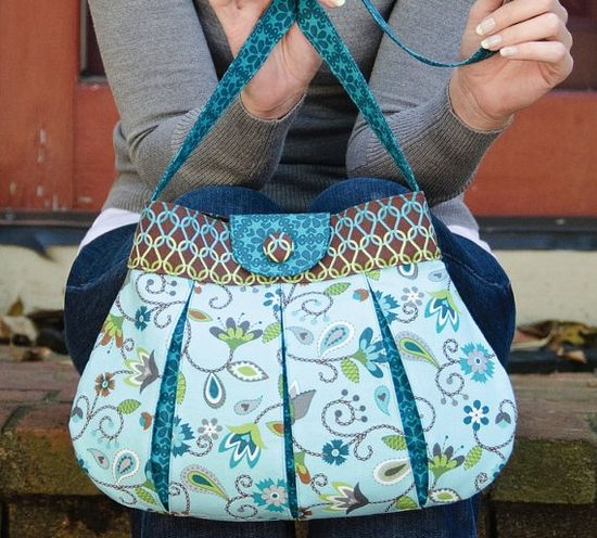 Handbag sewing pattern
