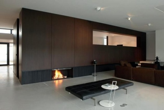 fireplaces by MetalFire on modern contemporay interior house design