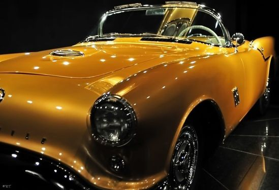 World's rarest car. 1954 Concept Old's Rocket F-88 - the only one in existence.