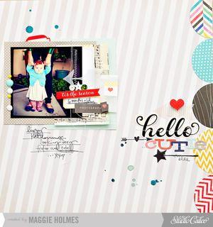 Hello Cutie by maggie holmes at Studio Calico Dec Kit