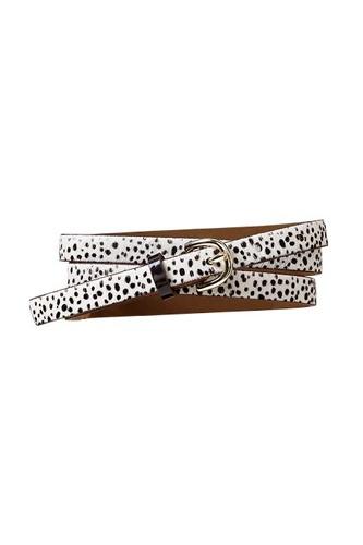 Gap Dalmatian-print belt