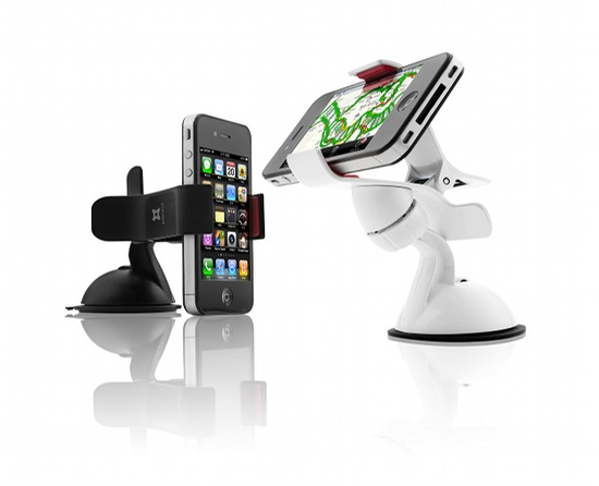 Smart phone mount for the car. Keeps your hands free.