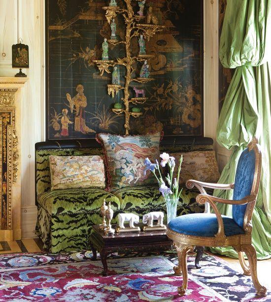 Anne Getty interior design