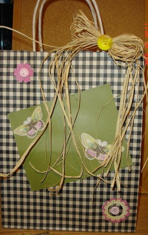 HAND MADE MOTHERS DAY GIFT BAGS