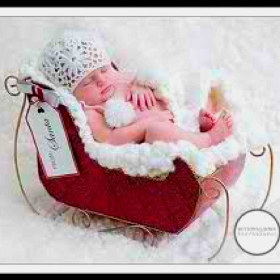 Christmas baby announcement. Too cute!!!