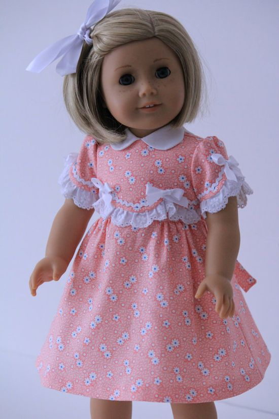 1930's Frock for American Girl doll Kit or Ruthie by BabiesArtUs, $38.00