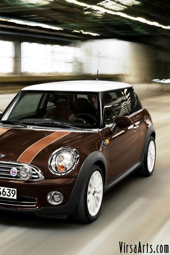 Brown Cool Car