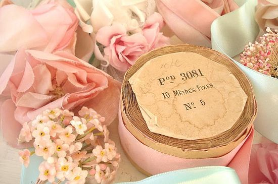 a-cottage-in-the-woods:    Vintage Supplies by such pretty things on Flickr.  ~ pretty vintage millinery