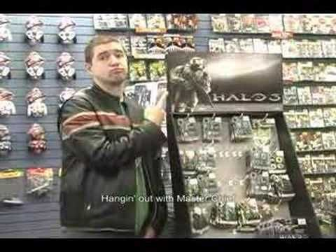 """Blame Halo 3"" a funny spoof video about men who are addicted to video games."