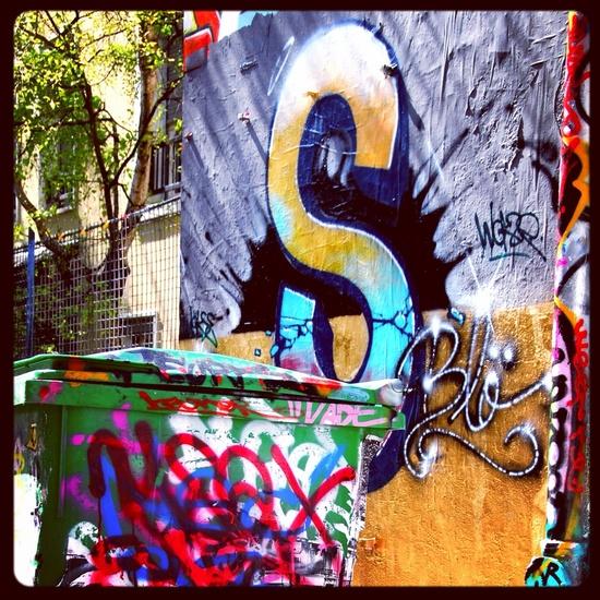 Graffiti Street,   Belleville, Paris