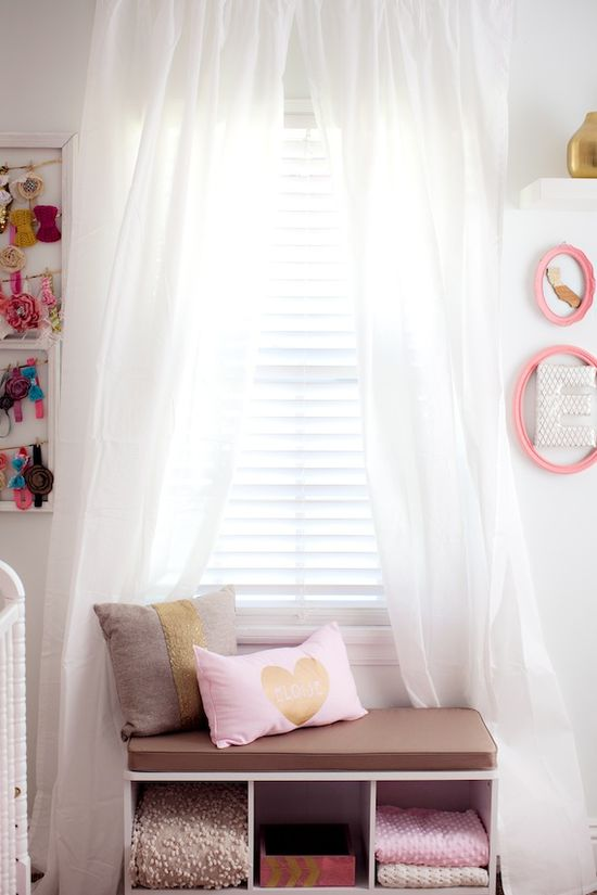 Mexico-inspired baby girl nursery