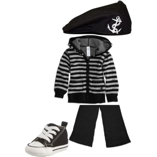 Baby Max's 6 month picture outfit possibility