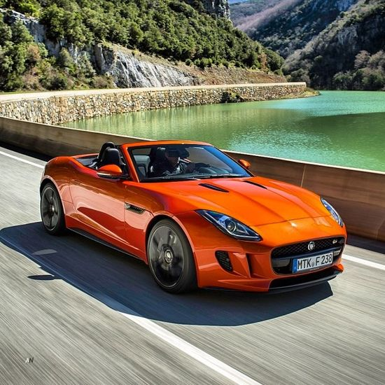 Orange dream! What Colour would you choose for this outrageously hot Jag!