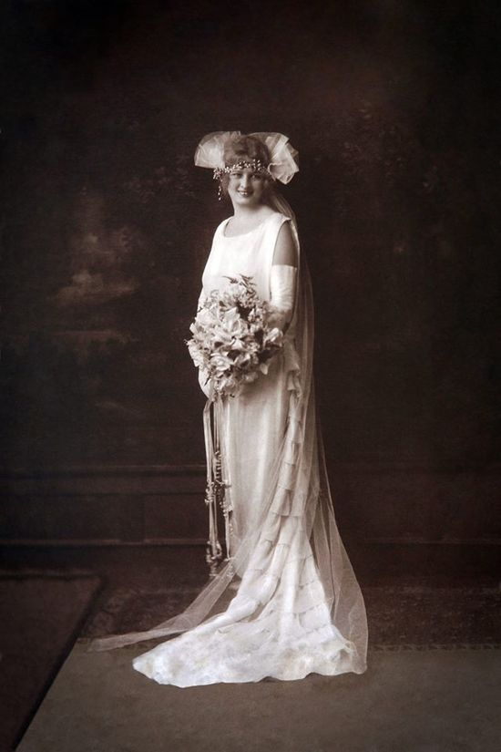 my great grandmother's wedding photo