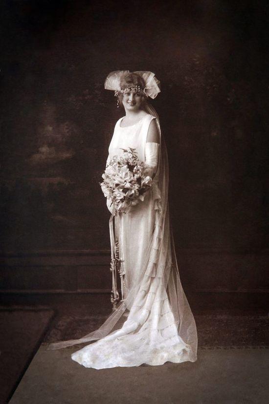 my great grandmother's wedding photo