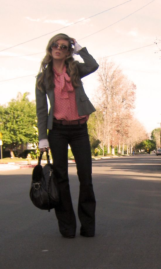 This is my ideal fall/winter work outfit... now if only it were fall/winter and I was working...